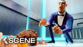 Lance and Walter Meet In the Elevator - SPIES IN DISGUISE Movie Clip (2019)