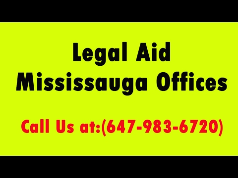 Legal Aid Mississauga Offices   Call (647-983-6720)