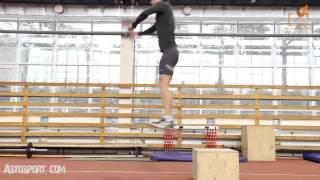 Тренировка мышц голени и голиностопа. Развитие прыгучести