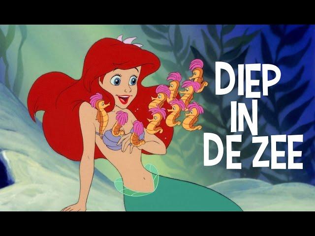 De Kleine Zeemeermin | Liedje: Diep In De Zee | Disney BE