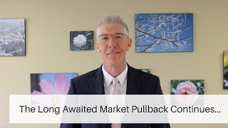 The Long Awaited Market Pullback...   // Mark's Minute on Money //