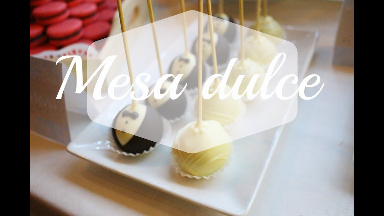 Mesa dulce para boda youtube for Dulce boda