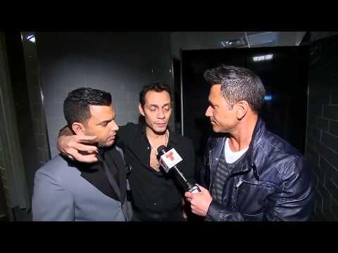 Entrevista a Tito el Bambino y Marc Anthony | Billboard 2013 | Entretenimiento