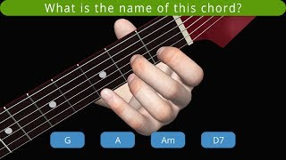 Chord Learning & Quiz Modes in Guitar 3D - Basic Chords v1.1.4