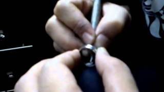 Bang Berto gravir nama di cincin 25april 2011