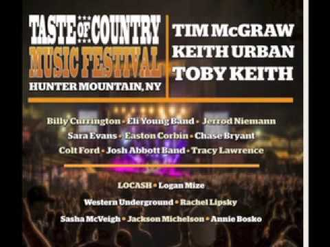 Richie Rhymes The Lineup For Taste Of Country Music Festival 2015
