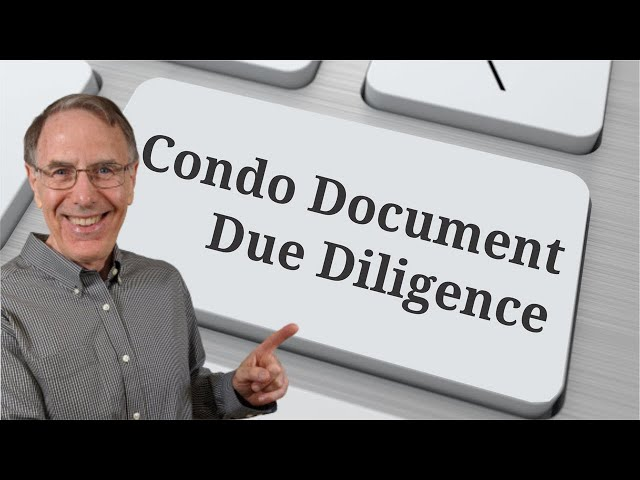 What to look for in the condo docs  - Warren Reynolds real estate