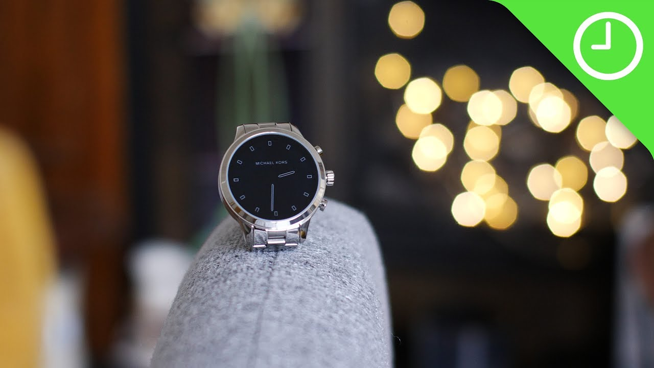 b9c9ae750 Michael Kors Access Runway review: The fashion-first Wear OS ...