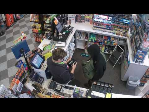 Gas station armed robbery in Twin Falls, Idaho