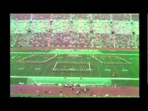 1987 - Los Angeles Raiders, Los Angeles Coliseum Halftime 10/18/87