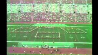 1987 - Los Angeles Raiders, Los Angeles Coliseum, Halftime 10/18/87