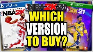 NBA 2K21: Which Version Should You Buy?