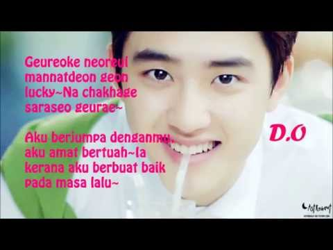 EXOK  LUCKY ROMMALAY LYRIC
