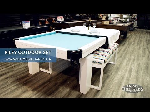Riley Outdoor Pool/Dining Table Set