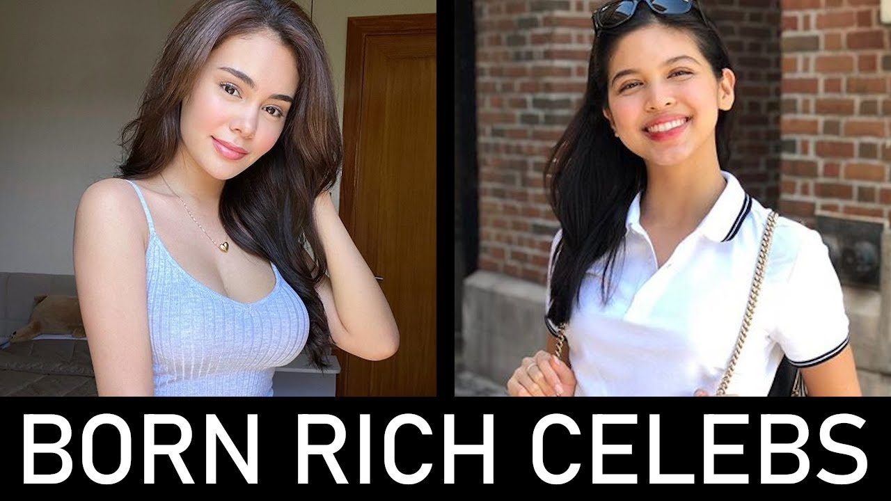 Mga Artistang Ipinanganak Na Mayaman (Born Rich Celebs