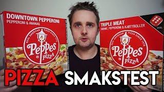 Peppes Frossenpizza Steketid
