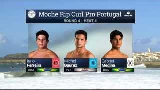 Moche Rip Curl Pro Portugal: R4, H4 Recap