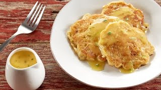 Ultimate Savory Potato & Leek Pancakes With Lemon & Thyme Gravy Recipe