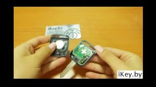 How to change the battery in a Nissan key fob Qashqai,Note,Murano,Pathfinder,Navara,Primera,Almera
