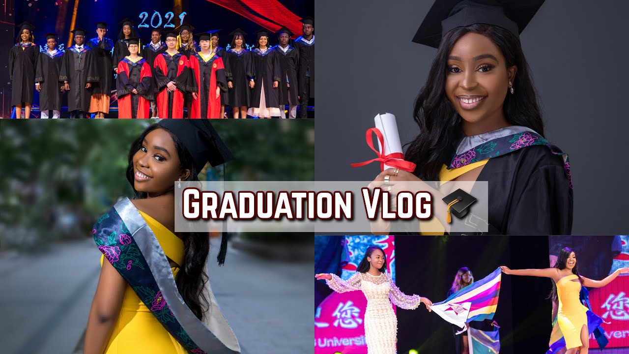 🎓 GRADUATION VLOG: FINALLY GETTING MY PHARMACY DEGREE FROM CHINA 🇨🇳    Just Siphosami