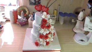 Свадебный 3-х ярусный торт - Я - ТОРТодел!