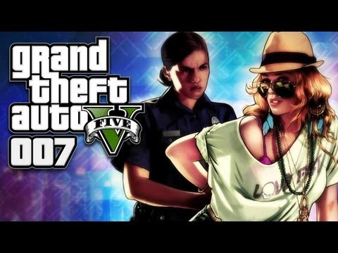 GTA 5 (GTA V) [HD+] #007 - Die Cops am Arsch ★ Let's Play GTA 5 (GTA V)