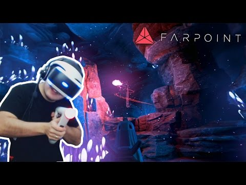 FARPOINT #2 - APARECEU UM BICHO NOJENTO! AIM CONTROLLER (PS VR)