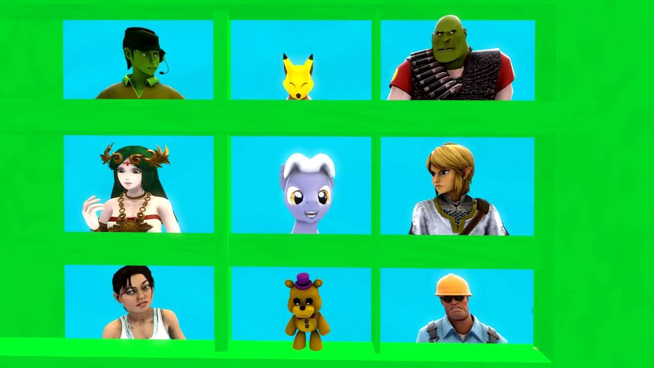 Shrek 2 Sfm Youtube