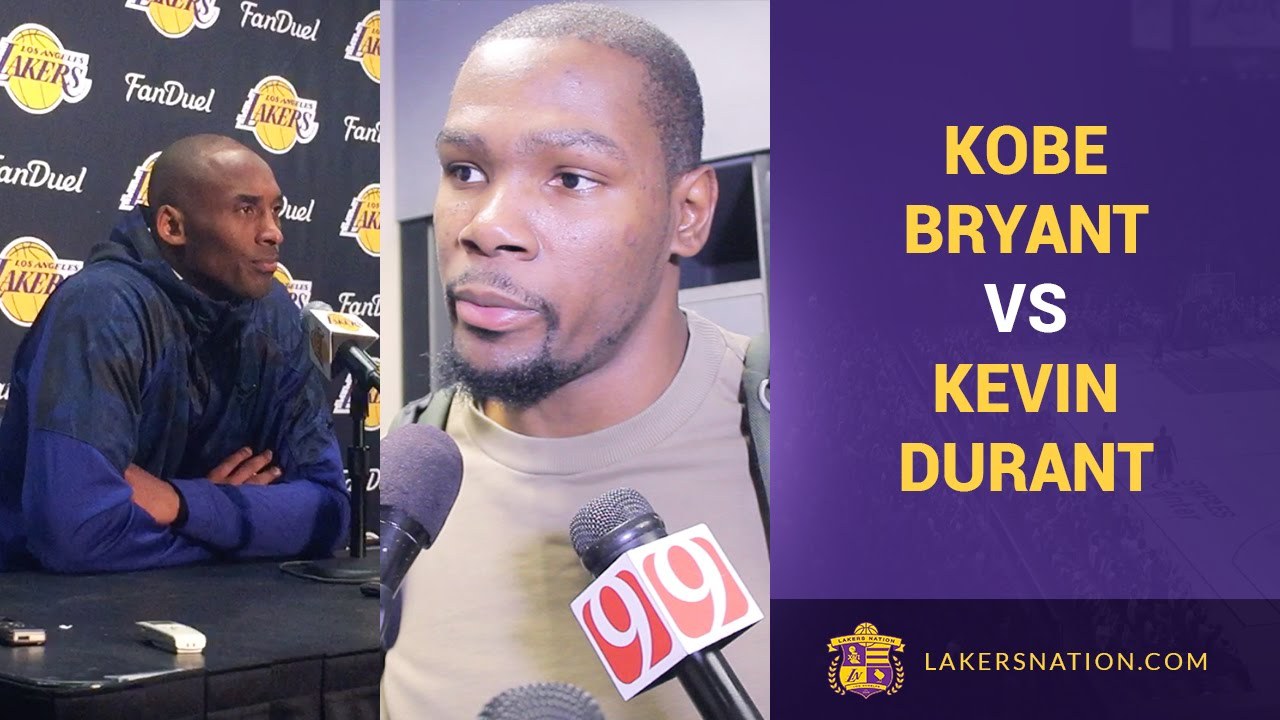 Kobe Bryant Signs Shoes For Kevin Durant, Writes Special Message