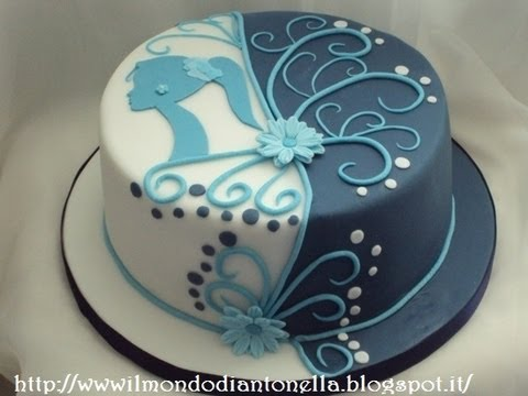 Torta Di Compleanno Fatta In Casa Semplice E Veloce Youtube
