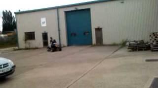 Ram170 quad  FZR400 4cylinder engine crazy mate riding