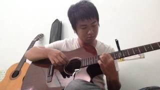 Nguyện Ước Hoa Anh Đào || GIN || Guitar Solo