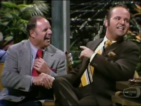 Don Rickles, Dom DeLuise & Glen Campbell Carson Tonight Show 1973