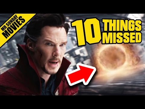 DOCTOR STRANGE Trailer 2 - Easter Eggs & Things Missed #SDCC