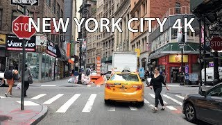 New York City Drive - Wall Street 4K - USA