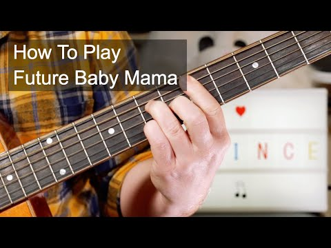 'Future Baby Mama' Prince Acoustic Guitar Lesson