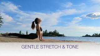 GENTLE STRETCHING AND TONING ROUTINE natalie danza