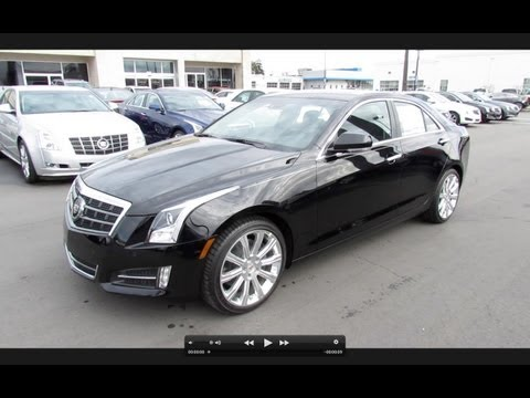 2013 Cadillac ATS Premium (3.6 & 2.0T) Start Up, Exhaust, and In Depth Review