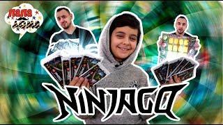 НЕОЖИДАННАЯ РАЗВЯЗКА! ОТКРЫВАЕМ КАРТОЧКИ! Папа Роб и Ярик играют в настольную игру Ниндзяго!
