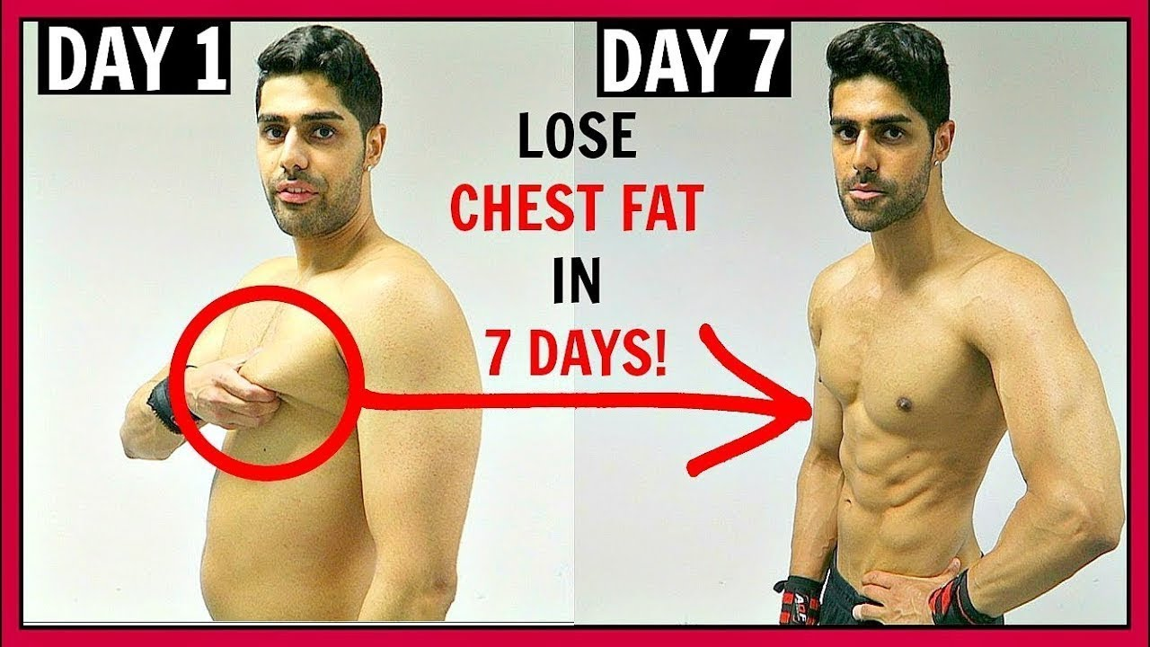 How To Lose CHEST FAT In 12 Week - 1200% WORKS!! - YouTube