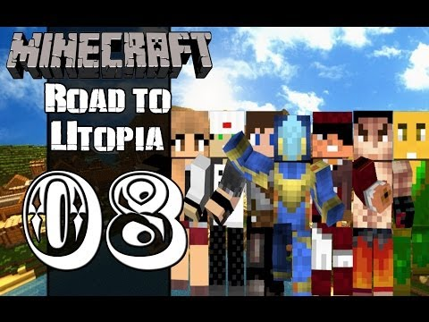 Road to Utopia - Minecraft: Road to Utopia :: S02 E08 - Where's the Center!?!