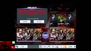 Injustice Gods Among Us iOS Patch 2.0 Farming Credits and XP Tips and Tricks