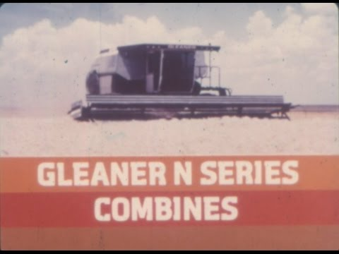 1979 to 1985 Allis Chalmers Gleaner N Series Rotary Combine Demo Pak Tape AC063