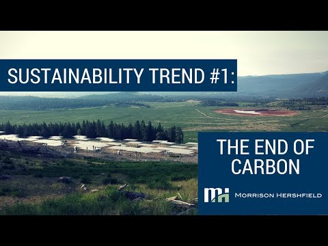 Sustainability Trend #1: The End of Carbon