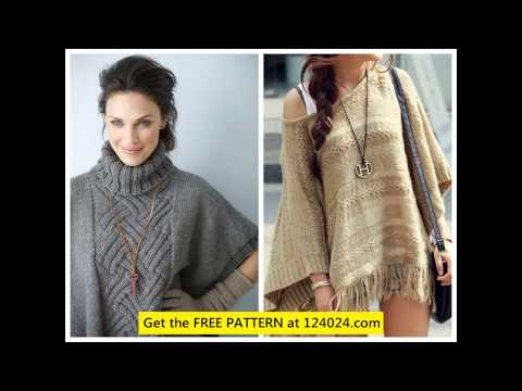 Knitting Patterns Poncho cable knit poncho cable knit poncho sweater