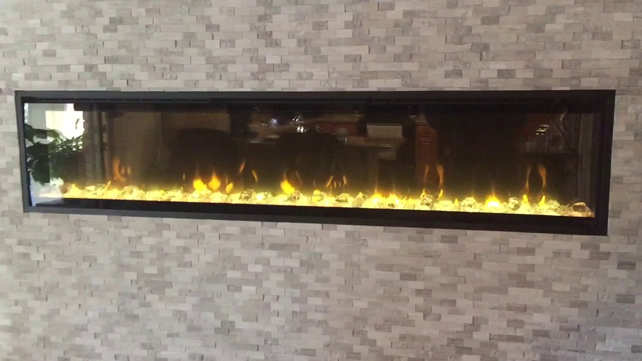 Dimplex XLF74 IgniteXL builtin electric fireplace  YouTube