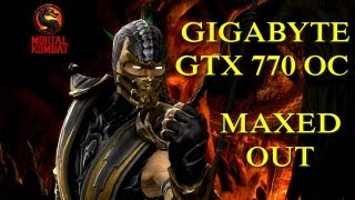 Mortal Kombat Komplete Edition - Gameplay - Gigabyte GTX 770 OC - Maxed Out