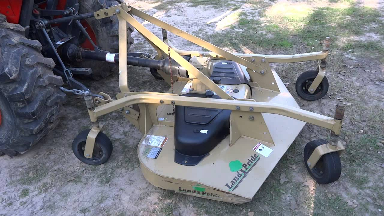 Land Pride Finish Mower Fdr1660 Rear Discharge Grooming