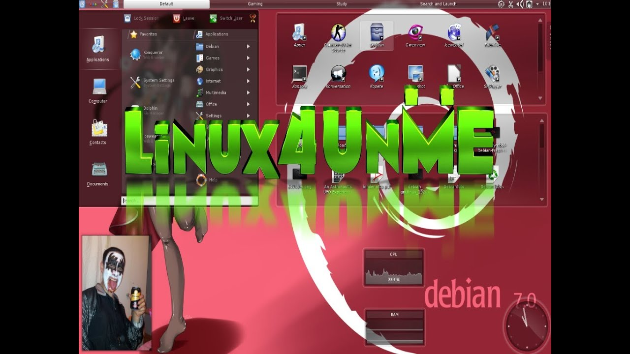 My KDE Layout