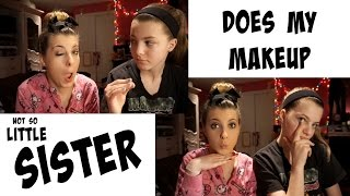 Younger Sister Does My Makeup!